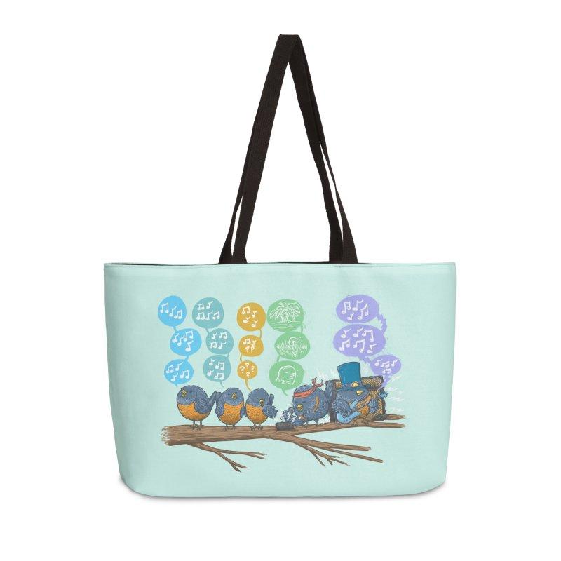 Spring Birds Accessories Weekender Bag Bag by nickv47