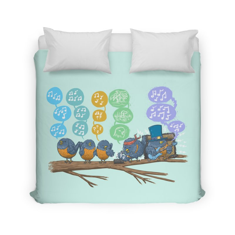 Spring Birds Home Duvet by nickv47