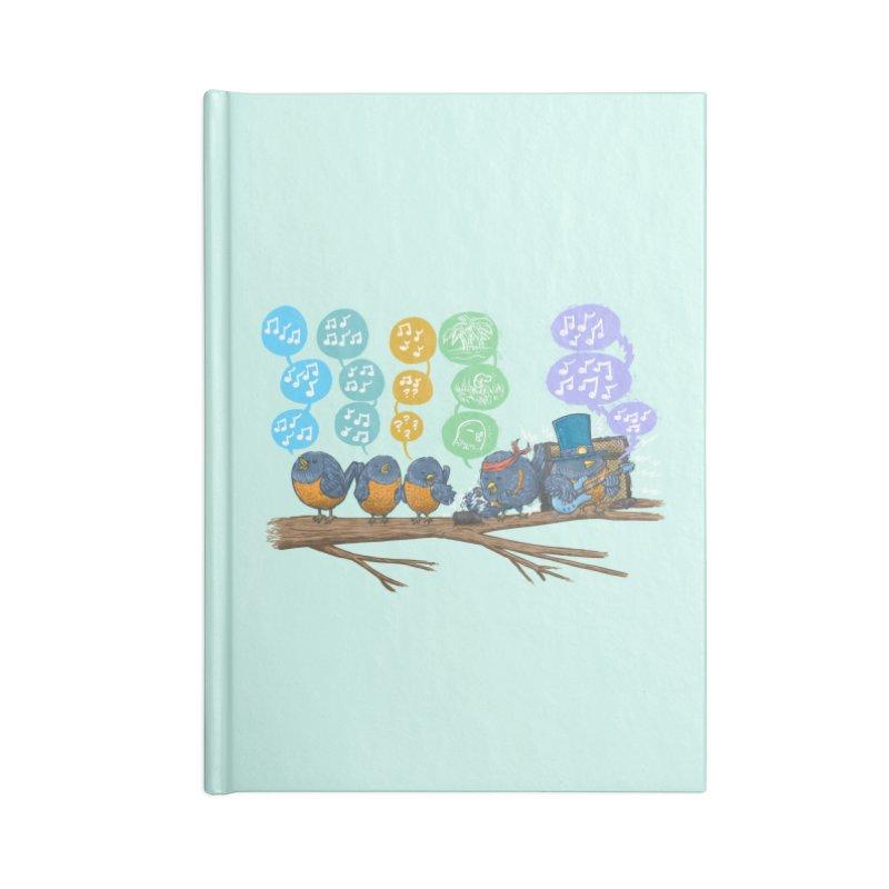 Spring Birds Accessories Notebook by nickv47