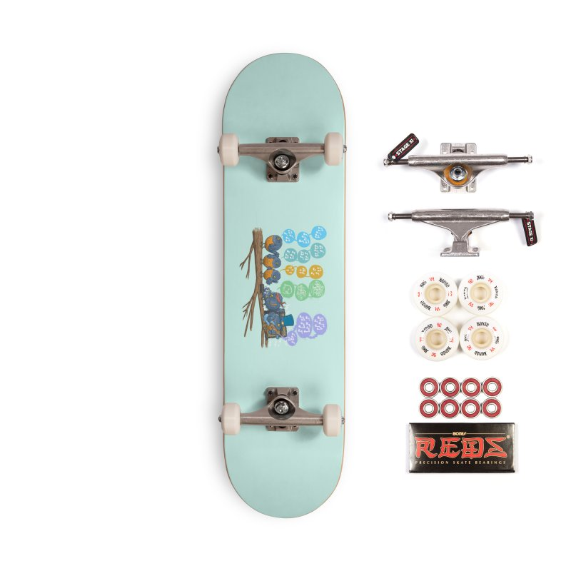 Spring Birds Accessories Complete - Pro Skateboard by nickv47