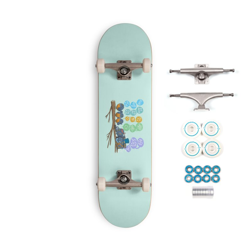 Spring Birds Accessories Complete - Basic Skateboard by nickv47