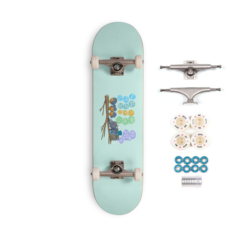 Spring Birds Accessories Complete - Premium Skateboard by nickv47
