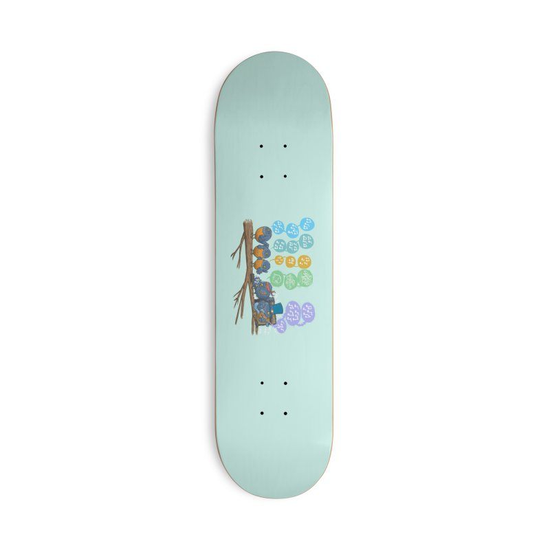 Spring Birds Accessories Deck Only Skateboard by nickv47