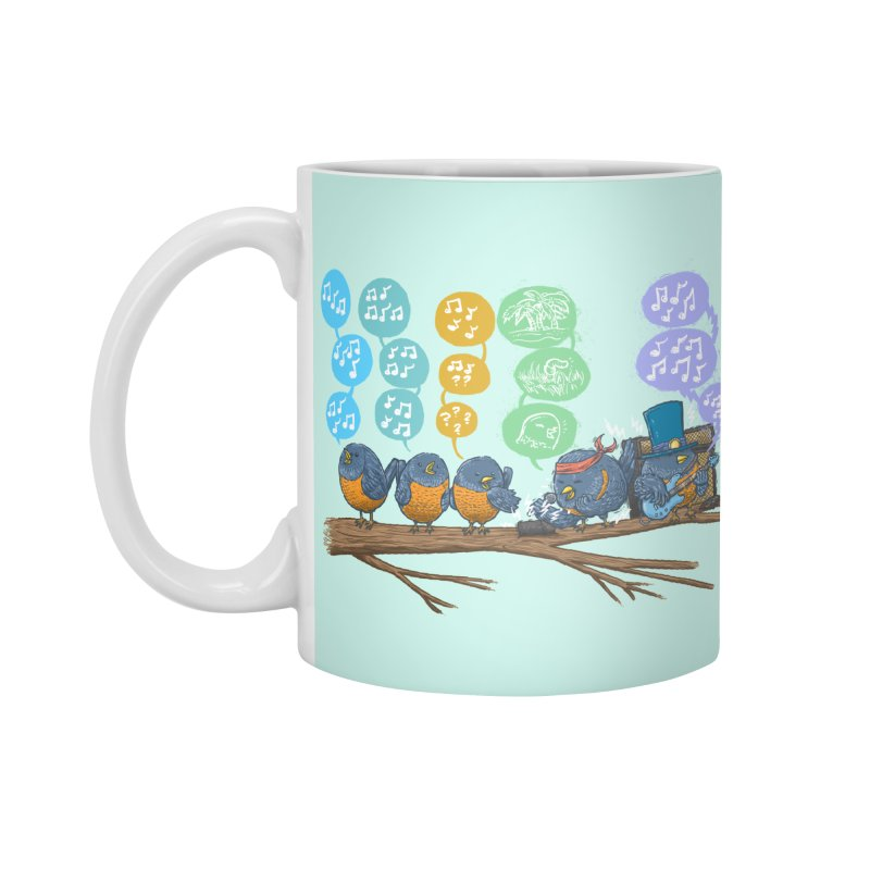 Spring Birds Accessories Standard Mug by nickv47