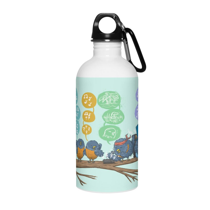 Spring Birds Accessories Water Bottle by nickv47