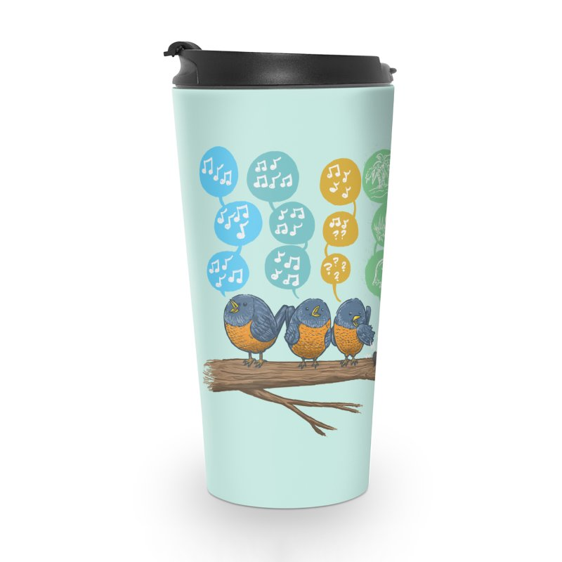 Spring Birds Accessories Travel Mug by nickv47