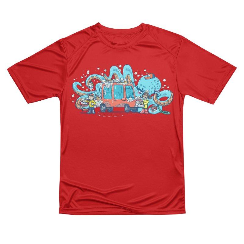 Octopus Carwash Women's Performance Unisex T-Shirt by nickv47
