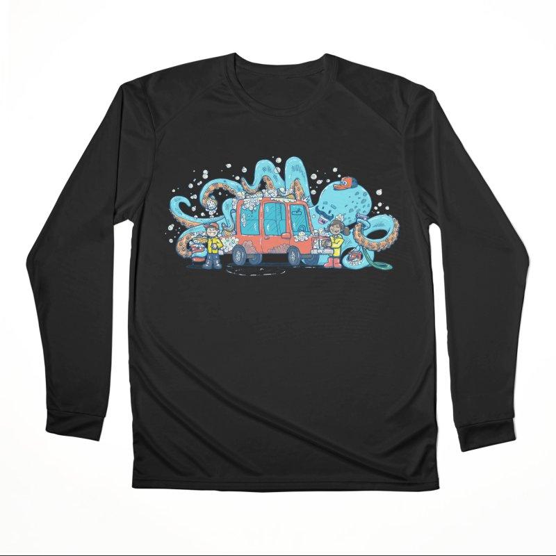 Octopus Carwash Women's Performance Unisex Longsleeve T-Shirt by nickv47