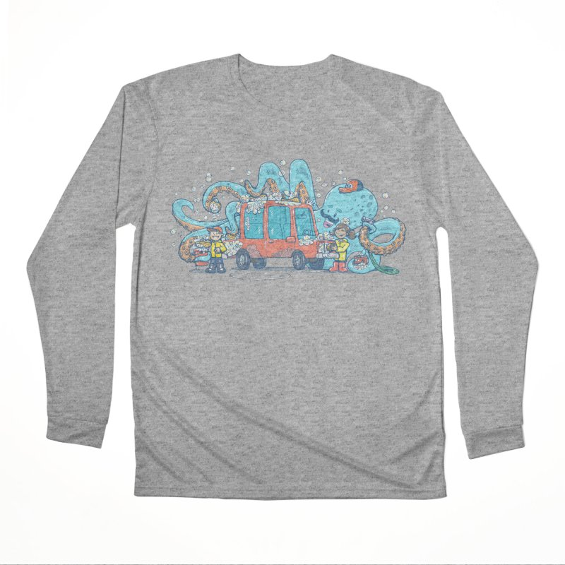 Octopus Carwash Men's Performance Longsleeve T-Shirt by nickv47