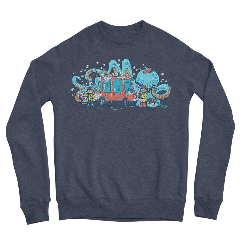 Octopus Carwash Men's Sponge Fleece Sweatshirt by nickv47