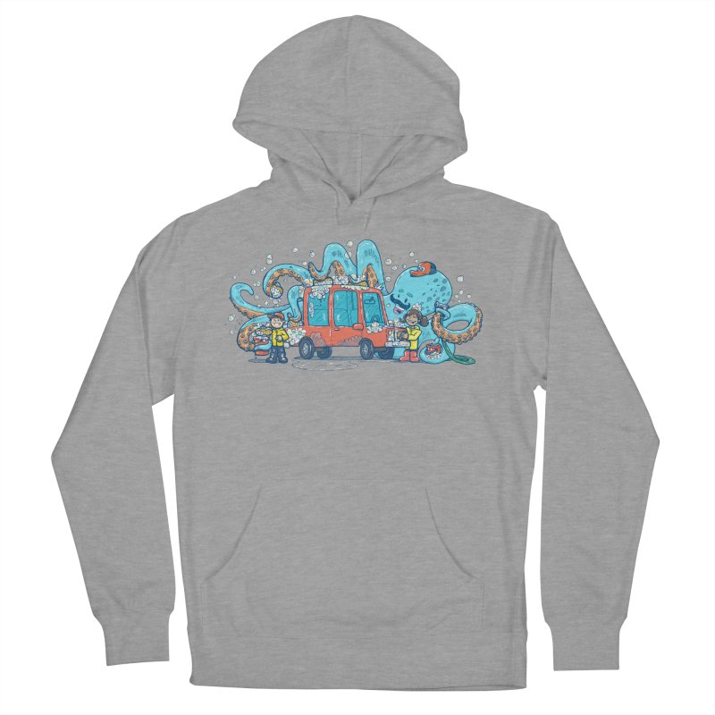 Octopus Carwash Women's French Terry Pullover Hoody by nickv47