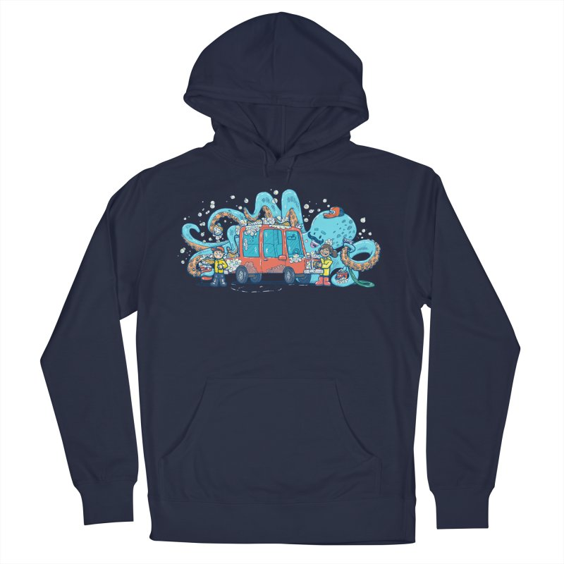 Octopus Carwash Men's Pullover Hoody by nickv47