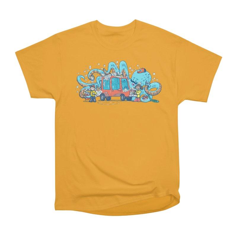 Octopus Carwash Women's Heavyweight Unisex T-Shirt by nickv47