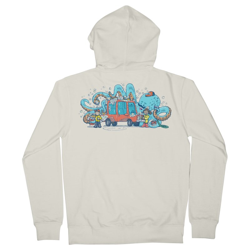 Octopus Carwash Women's French Terry Zip-Up Hoody by nickv47