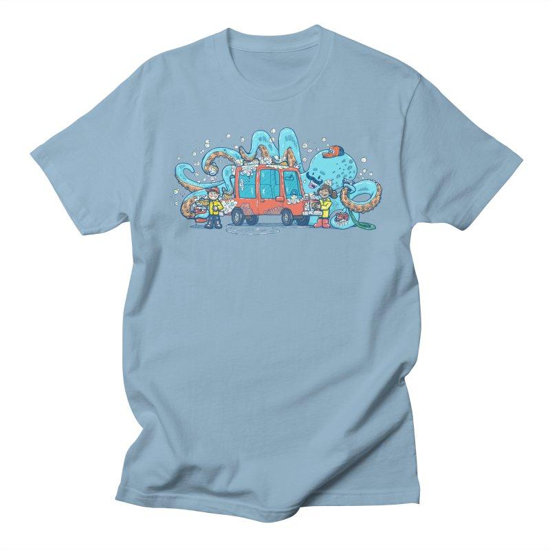 Octopus Carwash Men's Regular T-Shirt by nickv47