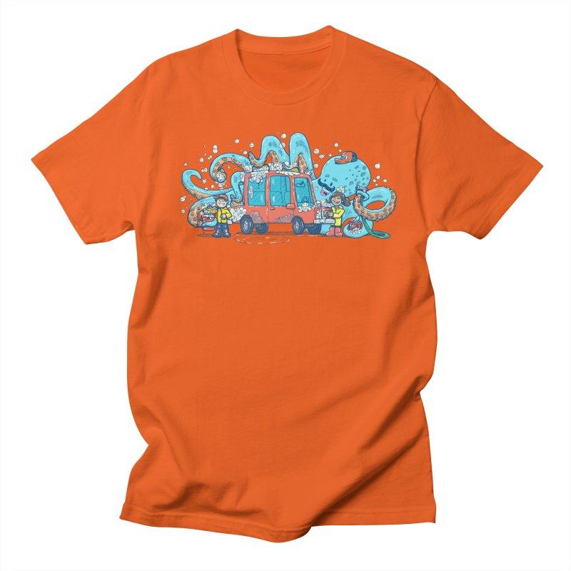 Octopus Carwash Women's Regular Unisex T-Shirt by nickv47