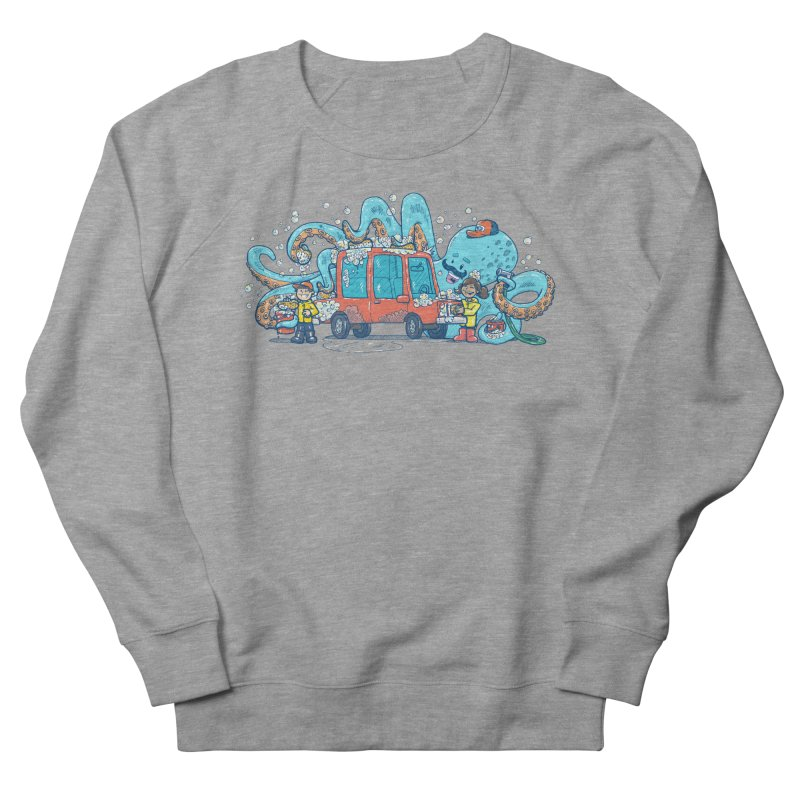 Octopus Carwash Women's French Terry Sweatshirt by nickv47