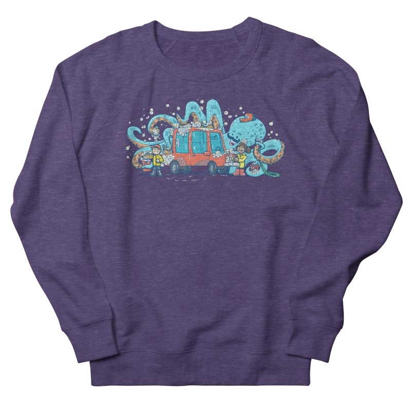 Octopus Carwash Men's French Terry Sweatshirt by nickv47