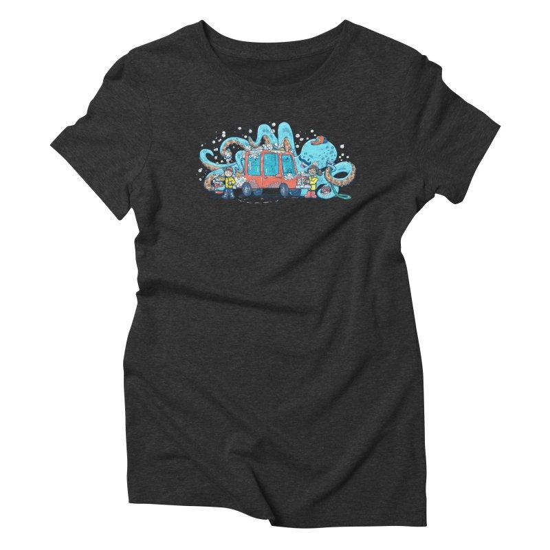 Octopus Carwash Women's Triblend T-Shirt by nickv47
