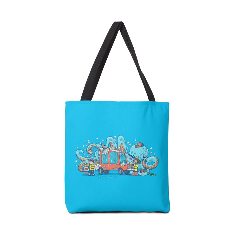 Octopus Carwash Accessories Tote Bag Bag by nickv47