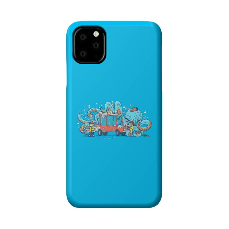 Octopus Carwash Accessories Phone Case by nickv47