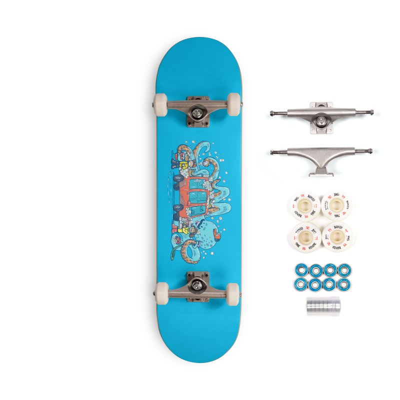 Octopus Carwash Accessories Complete - Premium Skateboard by nickv47