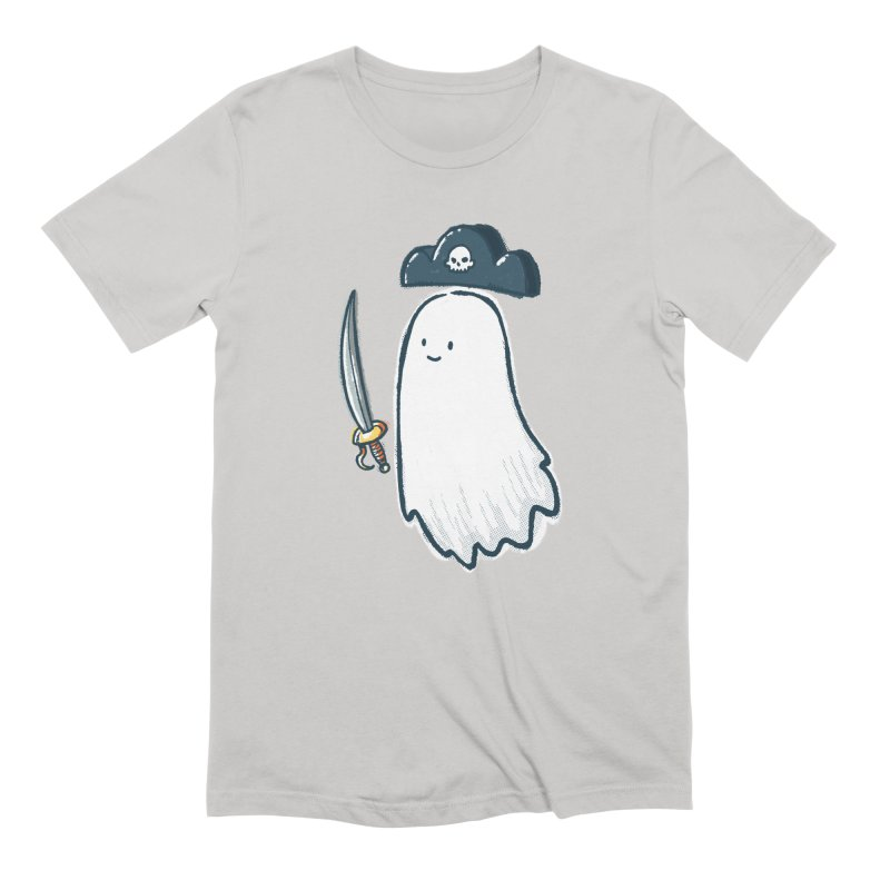 Pirate Ghost Men's Extra Soft T-Shirt by nickv47