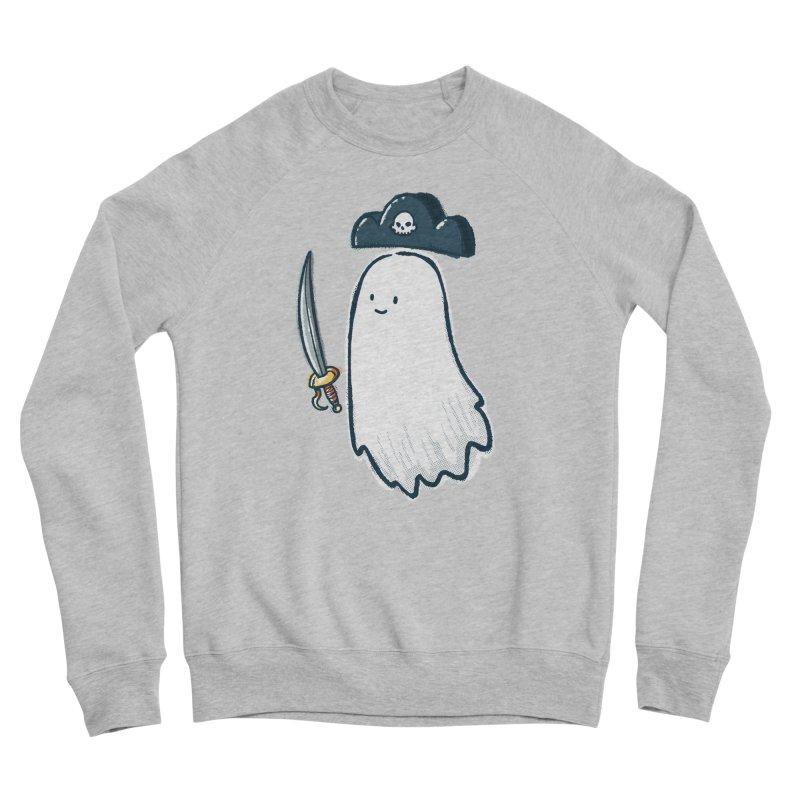 Pirate Ghost Women's Sponge Fleece Sweatshirt by nickv47