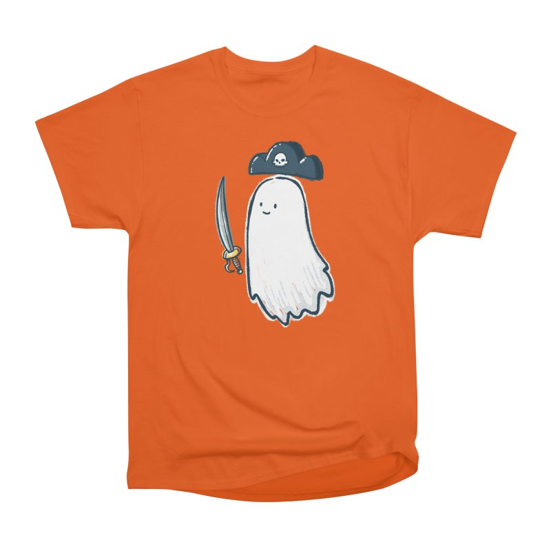Pirate Ghost Women's Heavyweight Unisex T-Shirt by nickv47