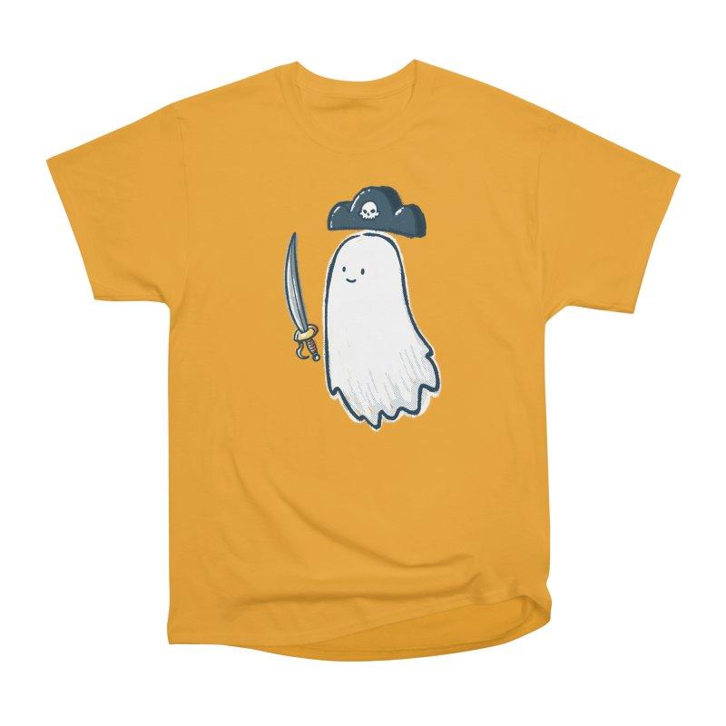 Pirate Ghost Men's Heavyweight T-Shirt by nickv47