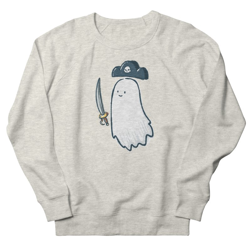 Pirate Ghost Women's French Terry Sweatshirt by nickv47