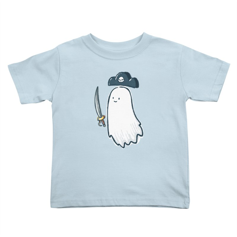 Pirate Ghost Kids Toddler T-Shirt by nickv47