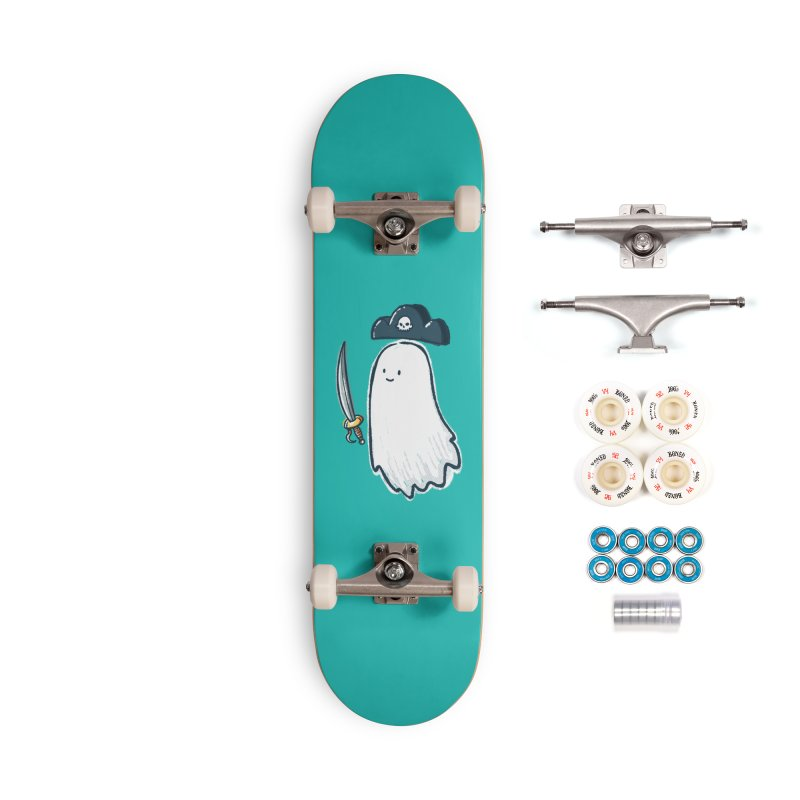 Pirate Ghost Accessories Complete - Premium Skateboard by nickv47