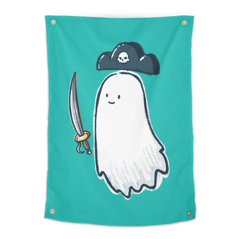 Pirate Ghost Home Tapestry by nickv47