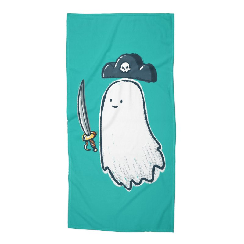 Pirate Ghost Accessories Beach Towel by nickv47
