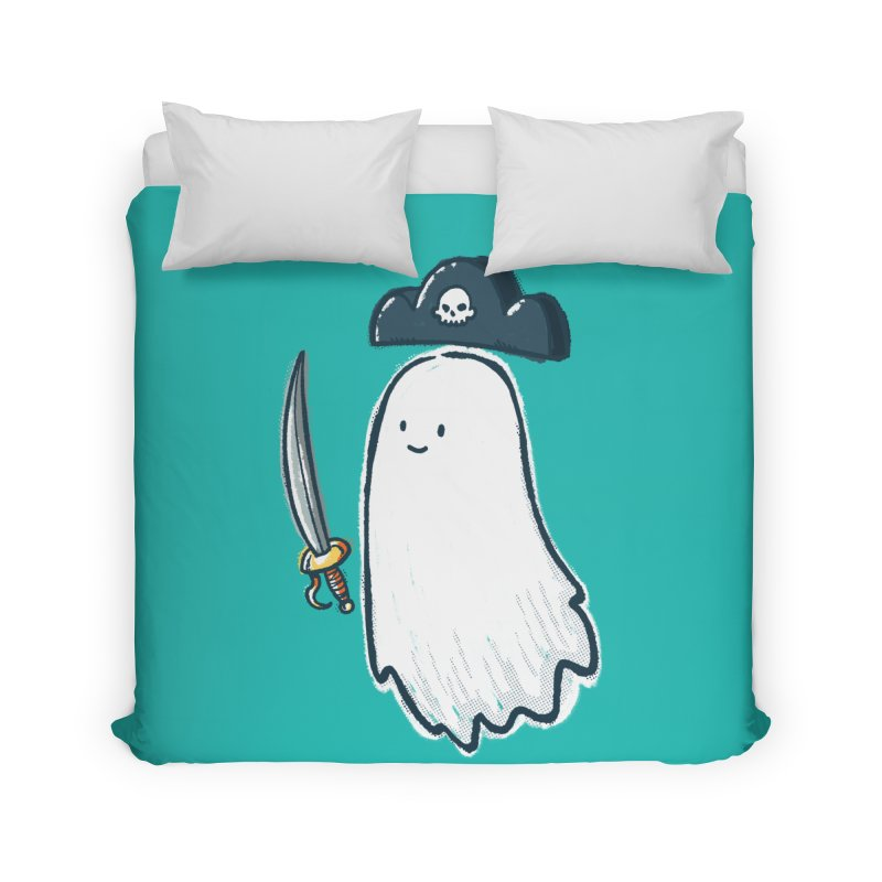 Pirate Ghost Home Duvet by nickv47