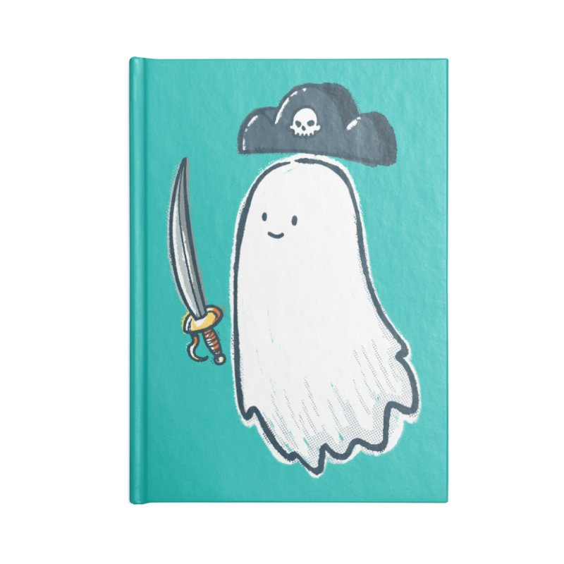 Pirate Ghost Accessories Lined Journal Notebook by nickv47