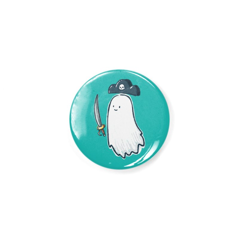 Pirate Ghost Accessories Button by nickv47