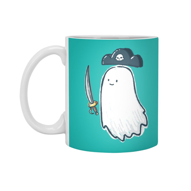 Pirate Ghost Accessories Standard Mug by nickv47