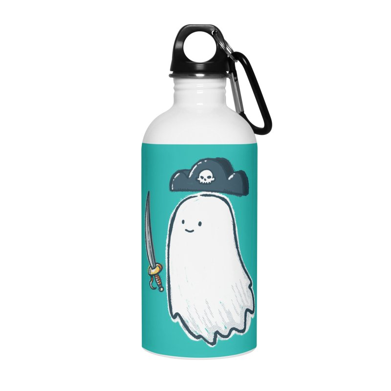 Pirate Ghost Accessories Water Bottle by nickv47