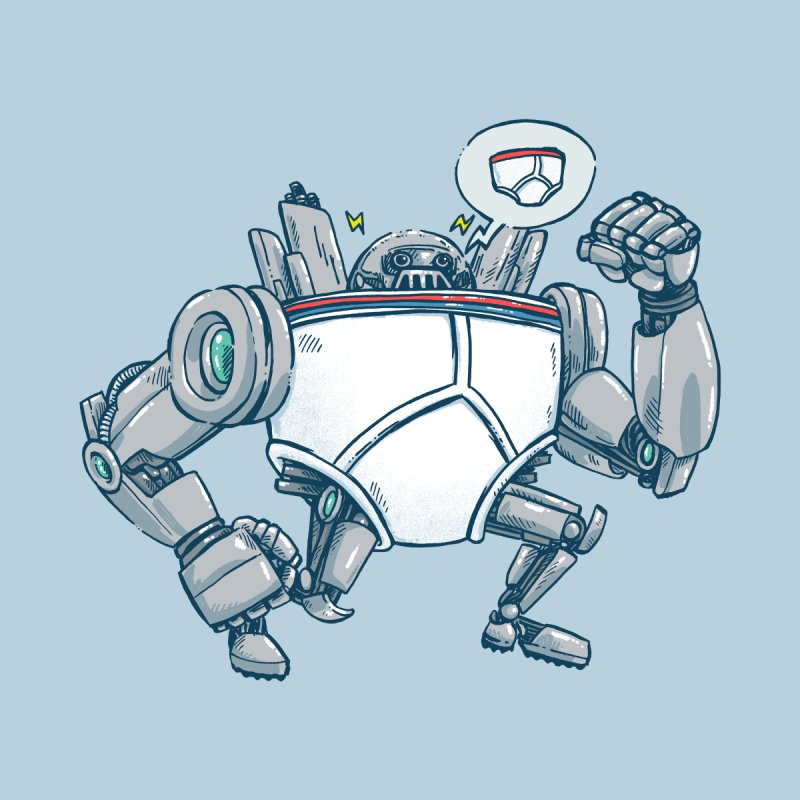 Uber UnderwearBot Kids Toddler Longsleeve T-Shirt by nickv47