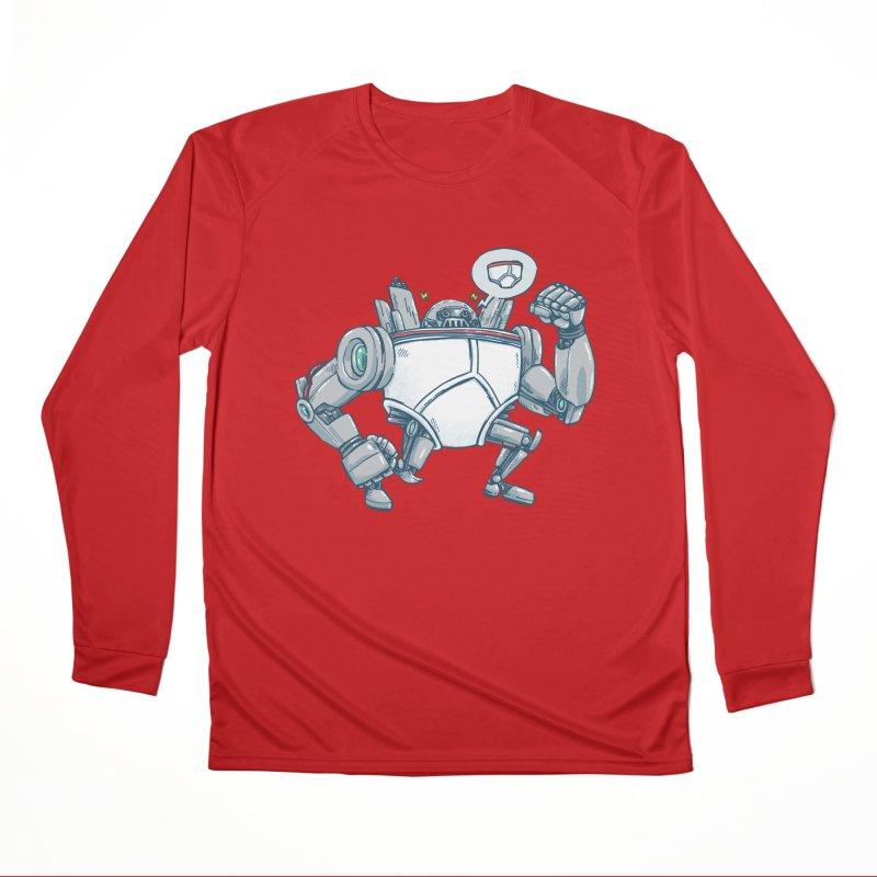 Uber UnderwearBot Men's Performance Longsleeve T-Shirt by nickv47