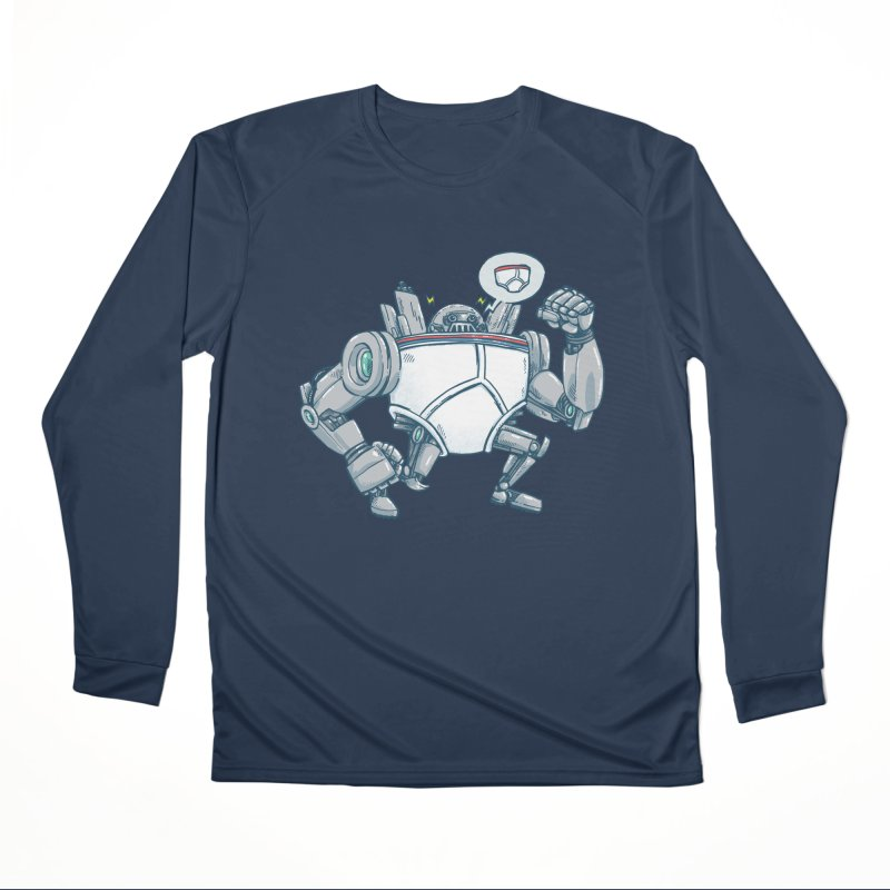 Uber UnderwearBot Women's Performance Unisex Longsleeve T-Shirt by nickv47