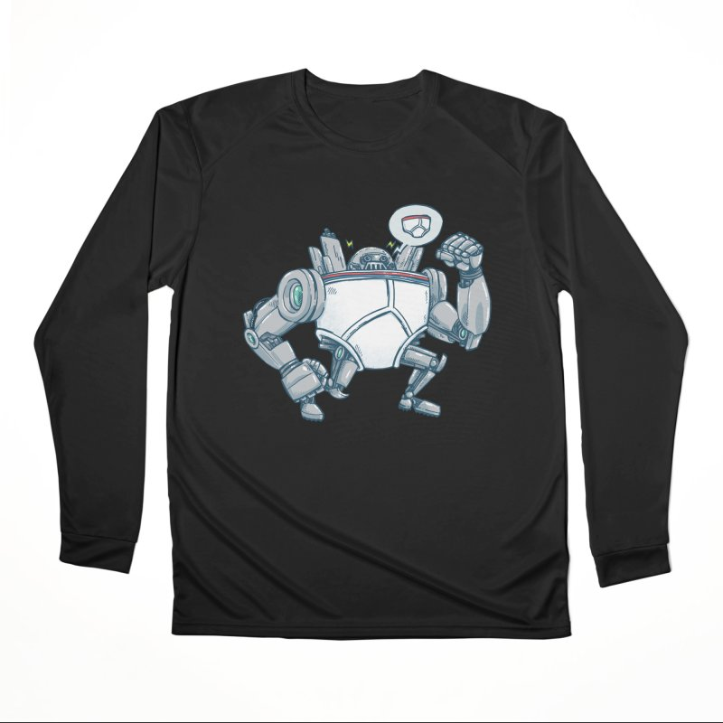 Uber UnderwearBot Men's Performance Longsleeve T-Shirt by nickv47