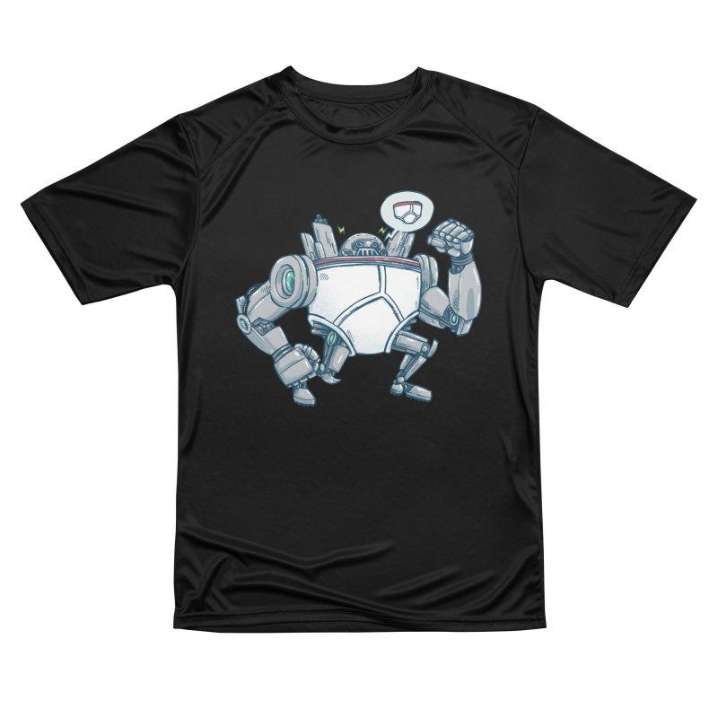 Uber UnderwearBot Women's Performance Unisex T-Shirt by nickv47