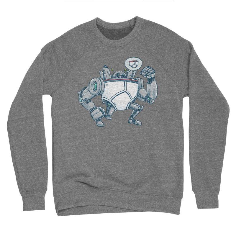 Uber UnderwearBot Women's Sponge Fleece Sweatshirt by nickv47