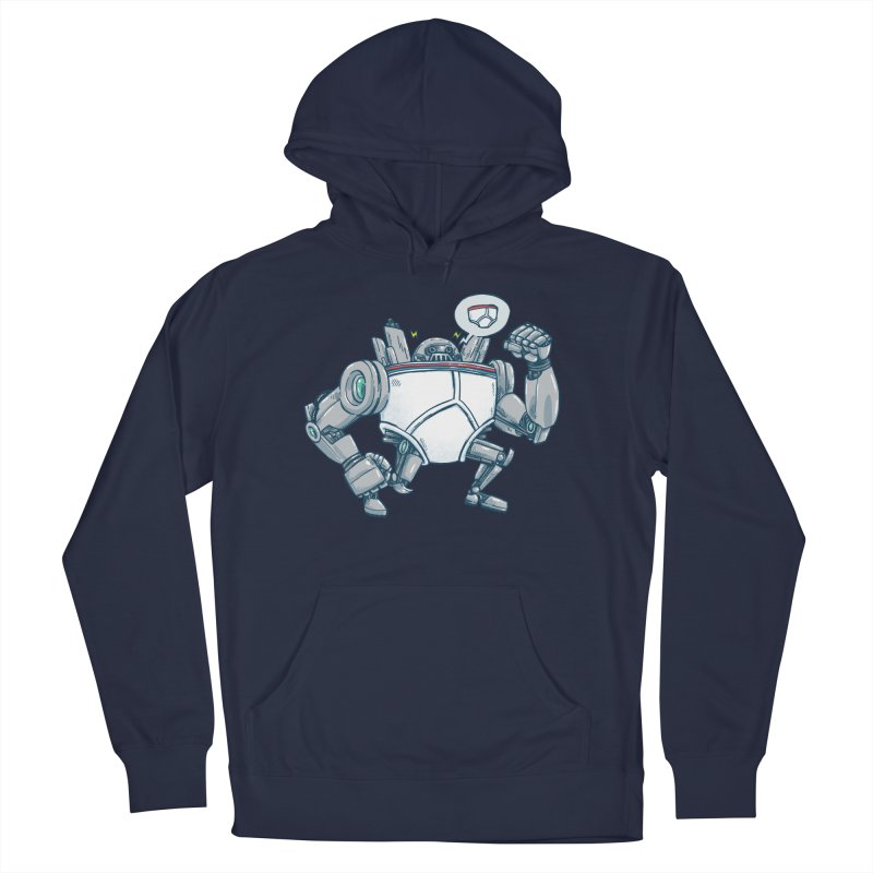 Uber UnderwearBot Women's French Terry Pullover Hoody by nickv47
