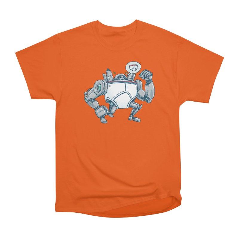 Uber UnderwearBot Men's T-Shirt by nickv47