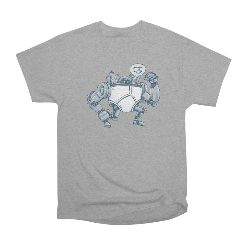 Uber UnderwearBot Women's Heavyweight Unisex T-Shirt by nickv47