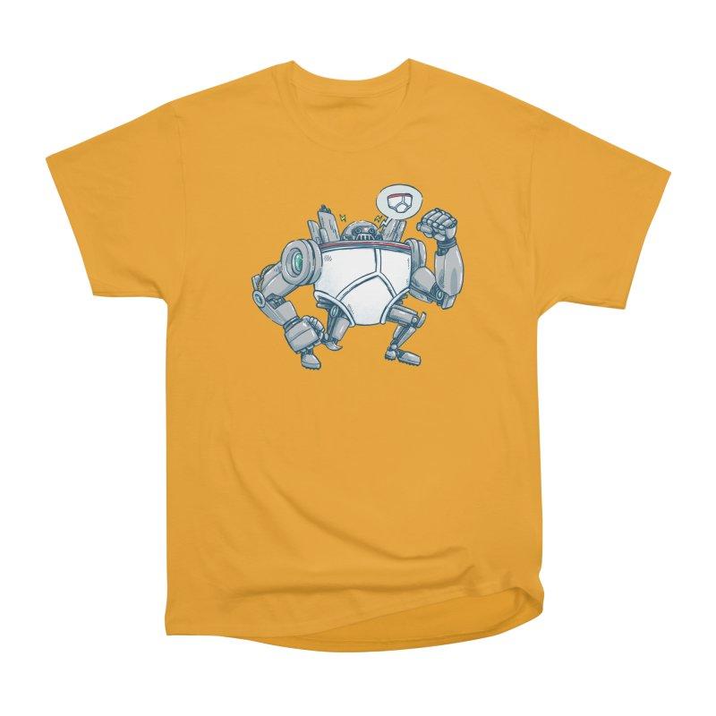 Uber UnderwearBot Men's Heavyweight T-Shirt by nickv47